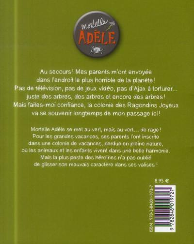 Dos Mortelle Adèle tome 7 - Pas de pitié pour les nazebroques