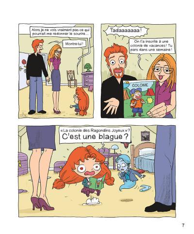 Page 6 Mortelle Adèle tome 7 - Pas de pitié pour les nazebroques