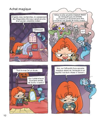 Page 9 Mortelle Adèle tome 7 - Pas de pitié pour les nazebroques