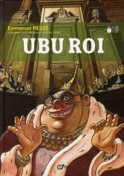 Couverture ubu roi tome 1