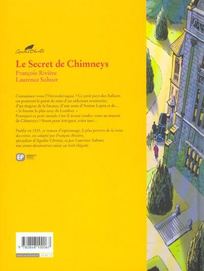 Dos le secret de chimneys tome 1