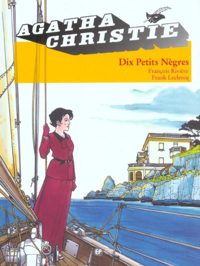 Couverture Agatha Christie tome 3 - dix petits nègres