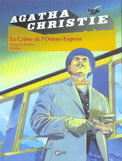 Couverture agatha christie tome 4 - le crime de l'orient express