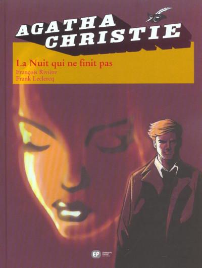 Couverture agatha christie tome 6 - la nuit qui n'en finit pas
