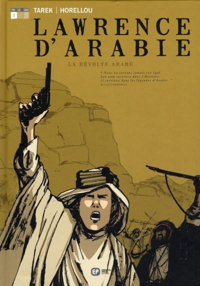 image de lawrence d'arabie tome 1 - la révolte arabe