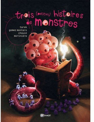 Couverture trois (petites) histoires de monstres