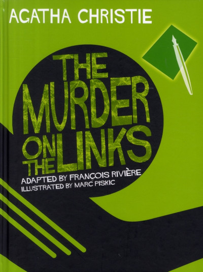 Couverture murder on the links (the) tome 4