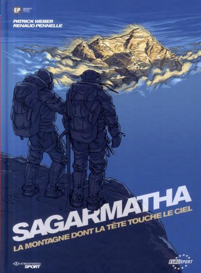 Couverture sagarmatha ; la montagne dont la tête touche le ciel