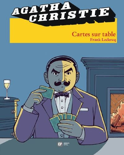 Couverture agatha christie tome 16 - cartes sur table