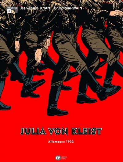 Couverture julia von kleist tome 1 - allemagne 1932