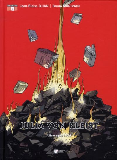 Couverture julia von kleist tome 2 - allemagne 1933