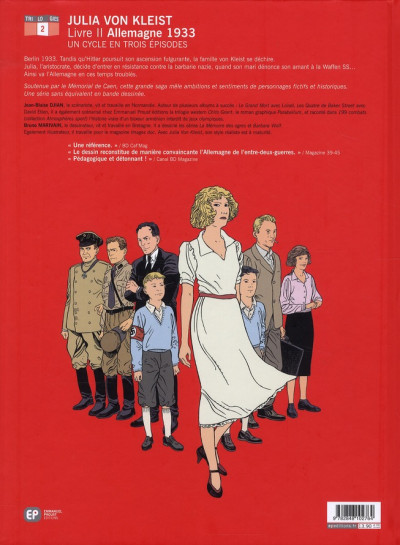 Dos julia von kleist tome 2 - allemagne 1933