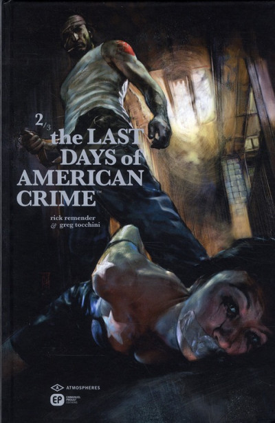 Couverture the last days of american crime tome 2