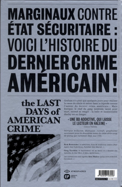 Dos the last days of american crime tome 2