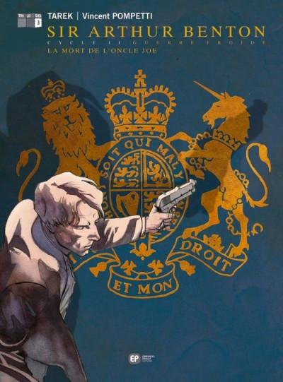 Couverture Sir Arthur Benton - cycle 2 T.3 - la mort de l'oncle Joe