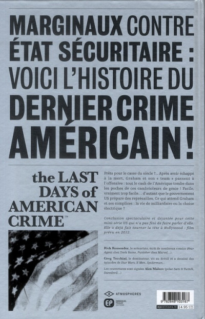 Dos the last days of american crime tome 3
