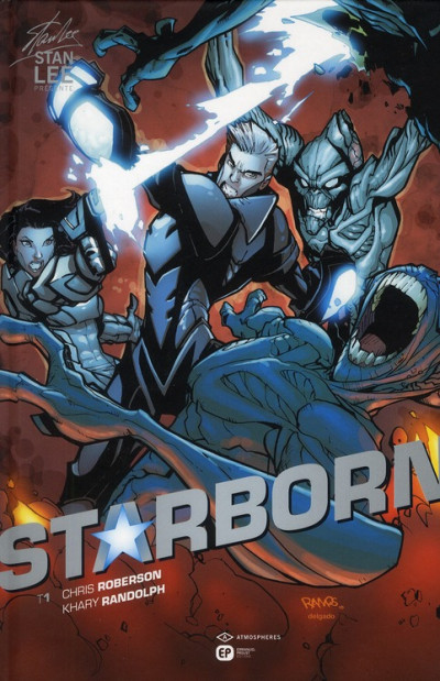 Couverture starborn tome 1