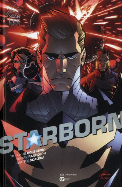 Couverture starborn tome 2