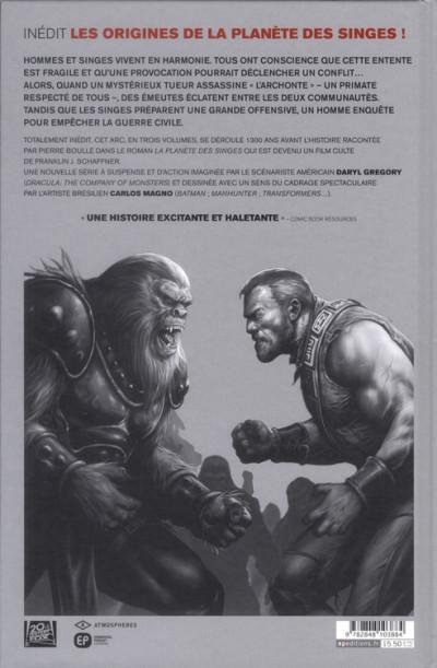 Dos la planète des singes tome 1