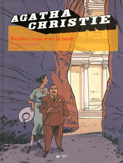 Couverture Agatha Christie tome 24 - rendez-vous avec la mort