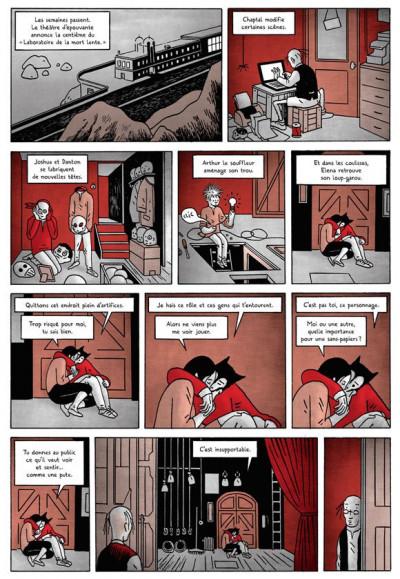 Page 1 les nuits rouges du théâtre d'épouvante