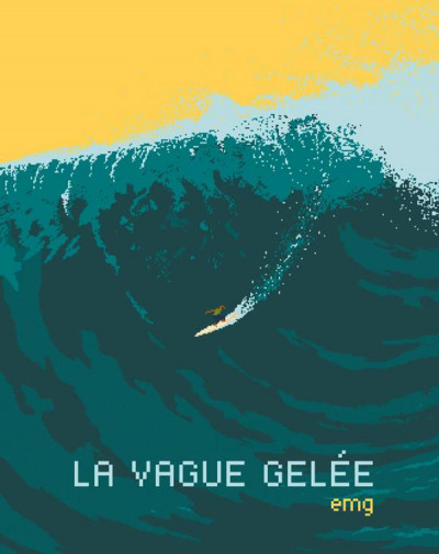 Couverture La vague gelée