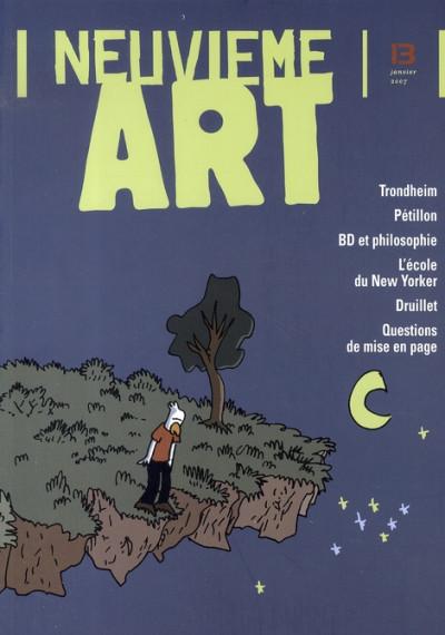 Couverture revue 9e art tome 13 - janvier 2007
