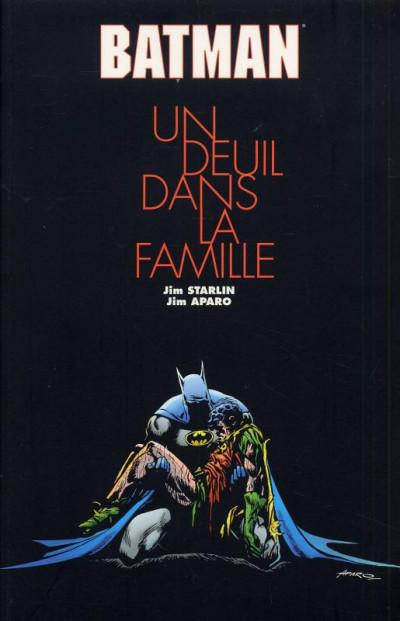 Couverture batman ; un deuil dans la famille
