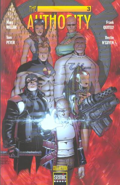 Couverture The authority (semci) tome 3 - le meilleur des mondes tome 1