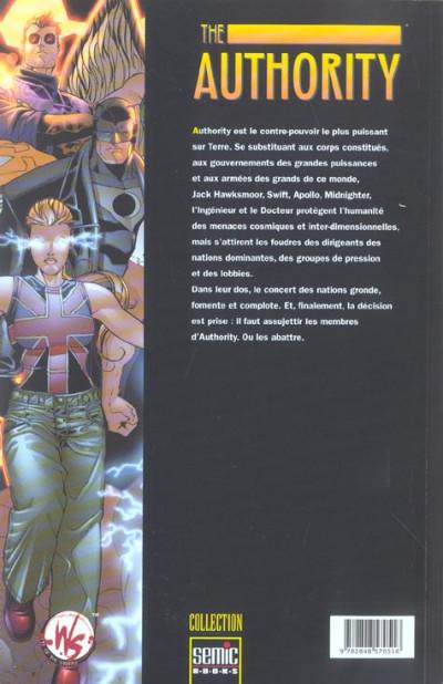 Dos The authority (semci) tome 3 - le meilleur des mondes tome 1