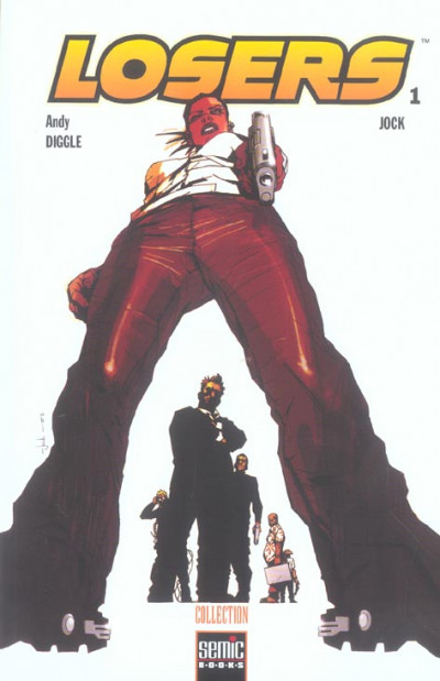 Couverture Losers tome 1 - jock