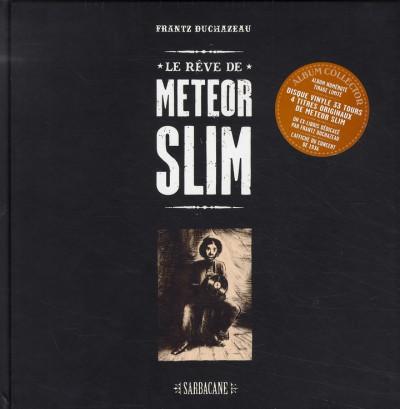 Couverture le rêve de meteor slim ; album collecteur avec disuqe vinyle