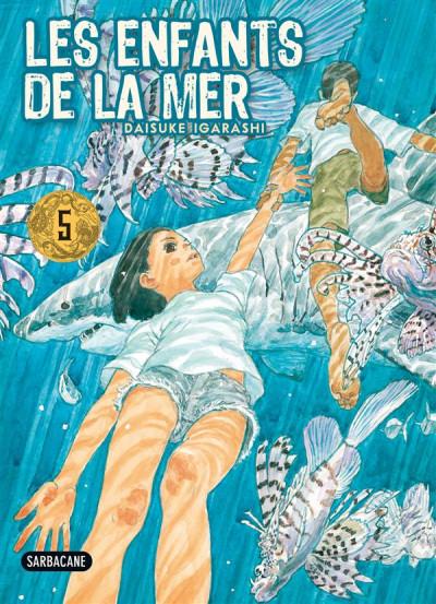 Couverture les enfants de la mer tome 5