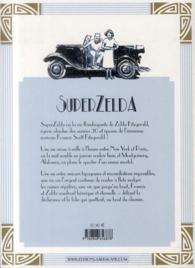 Dos SuperZelda ; l'incroyable histoire de la femme de Francis Scott Fitzgerald