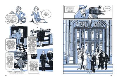 Page 1 SuperZelda ; l'incroyable histoire de la femme de Francis Scott Fitzgerald