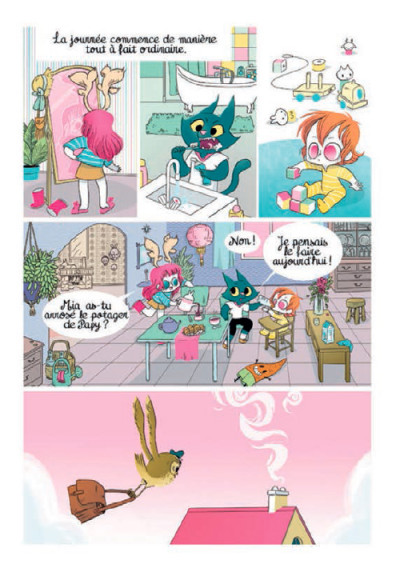Page 2 Les Soeurs Moustaches tome 1 - La Balade De Mai