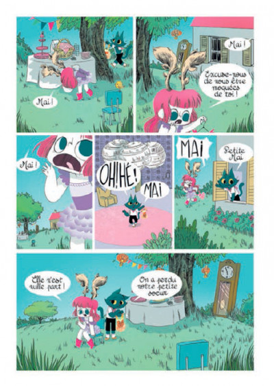 Page 6 Les Soeurs Moustaches tome 1 - La Balade De Mai