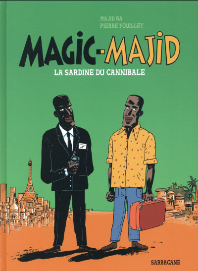 Couverture Magic majid - La sardine du cannibale