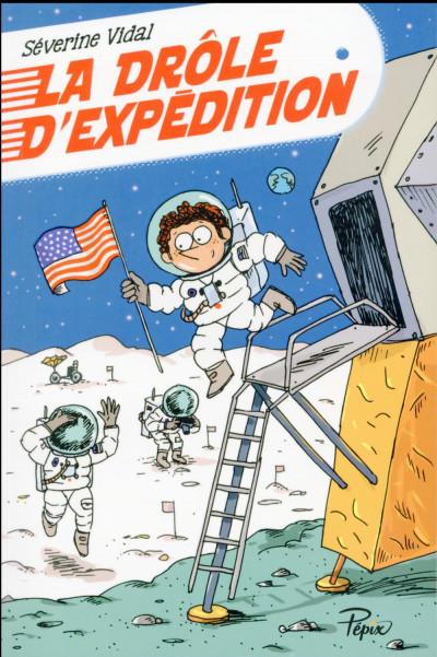 Couverture La drôle d'expédition