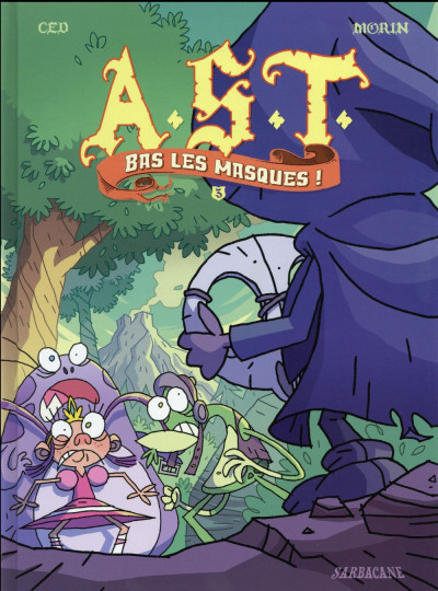 Couverture A.S.T tome 3