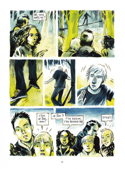 Page 1 À quatre mètres du sol