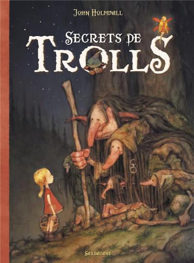 Couverture Secrets de trolls
