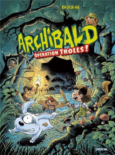 Couverture Archibald tome 3