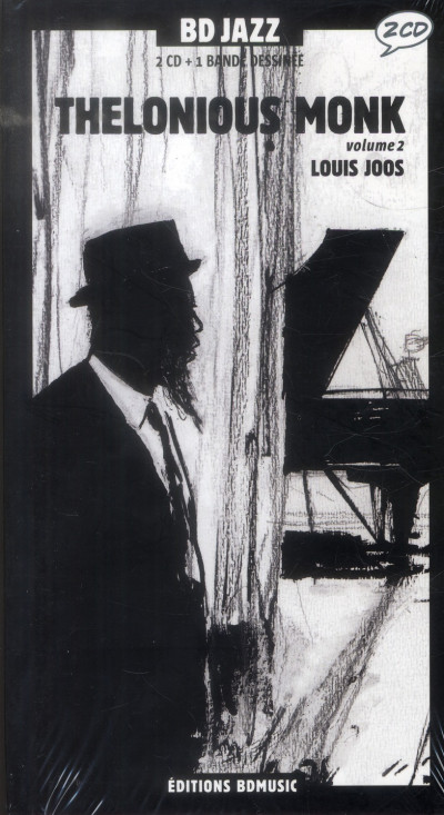 Couverture Thelonious Monk tome 2