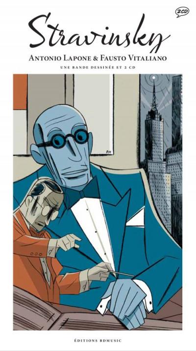 Couverture Stravinski