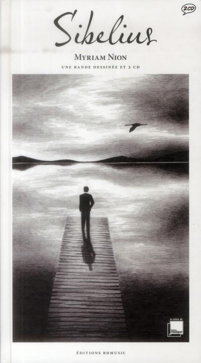 Couverture Sibelius ; biographie de Sibelius par François Hudry