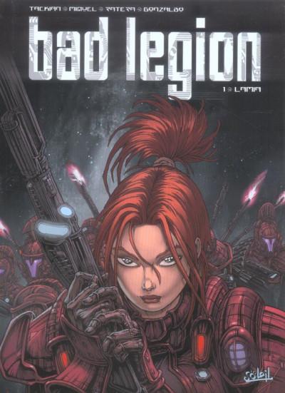 Couverture Bad legion tome 1