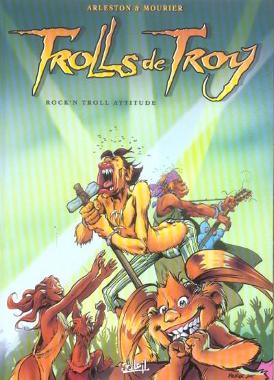 Couverture trolls de troy tome 8 - la rock'n troll attitude