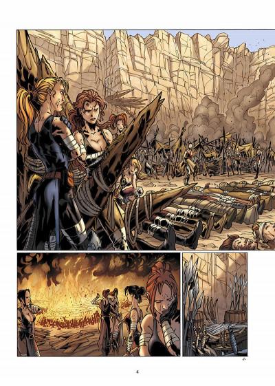Page 5 la geste des chevaliers dragons tome 4 - brisken