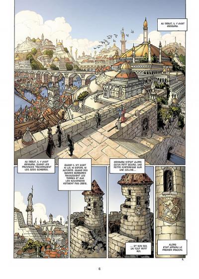 Page 7 la geste des chevaliers dragons tome 4 - brisken
